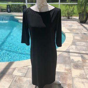 Chico's simple black dress Size 8